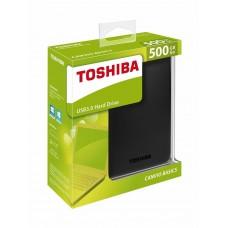 "Внешний жесткий диск 500ГБ Toshiba ""Canvio Basic"""